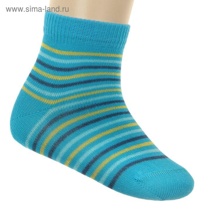 Носки детские ЛС46-2569, цвет бирюзовый, р-р 18