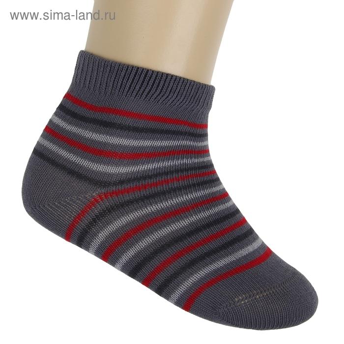 Носки детские, размер 14, цвет серый ЛС46-2569