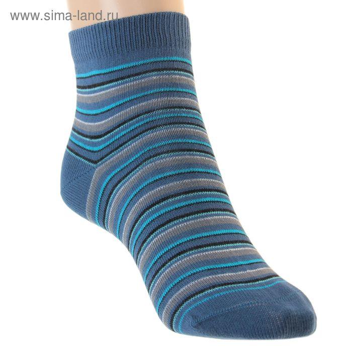 Носки детские, размер 22, цвет джинс ЛС46-2583