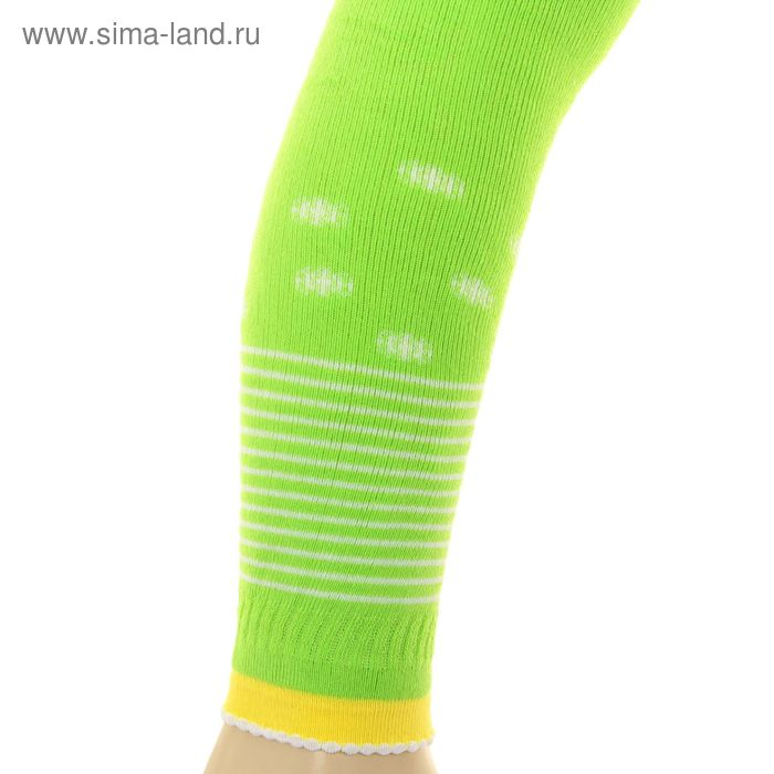 Леггинсы детские плюшевые, рост 74-80 см, цвет салат ПЛС16