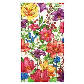 Полотенце вафельное В летнем саду 33*58 см +/-2 см,100% хлопок 160 гр/м