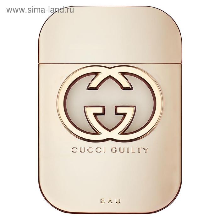 Туалетная вода Gucci Guilty Eau, 75 мл