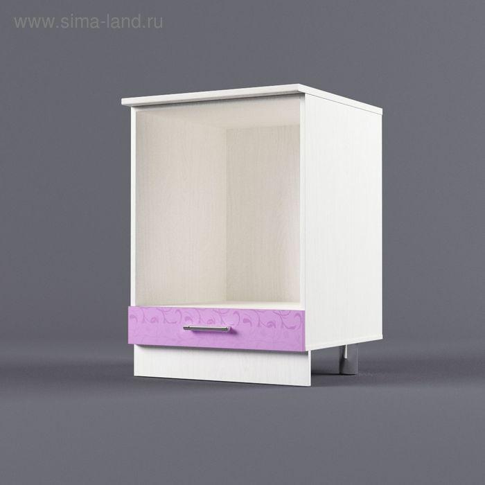 Шкаф напольный под встроенную технику 850*600*600 Ирис