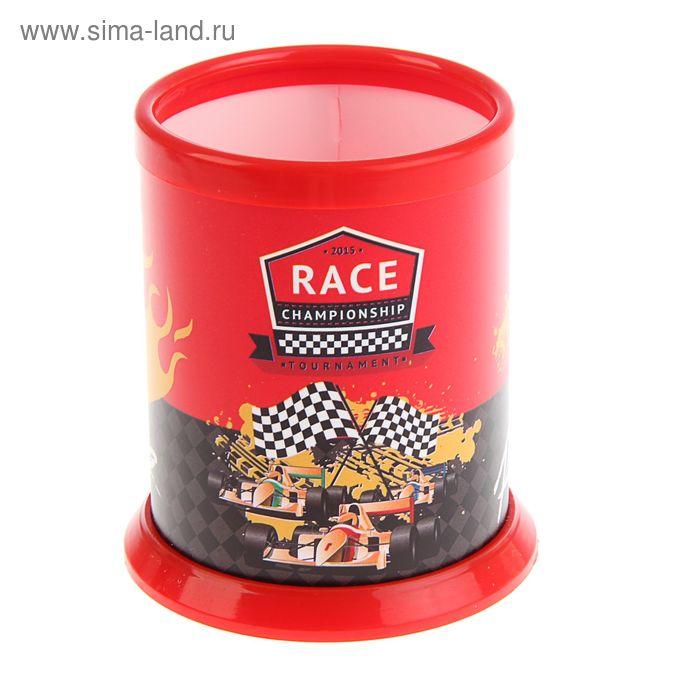 Подставка для письменных принадлежностей Racing пластиковая, разборная