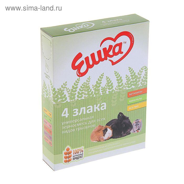 Корм «Ешка» для всех видов грызунов , 4 злака 400 гр