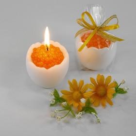 """Декоративная свеча """"Яйцо с икрой"""""""