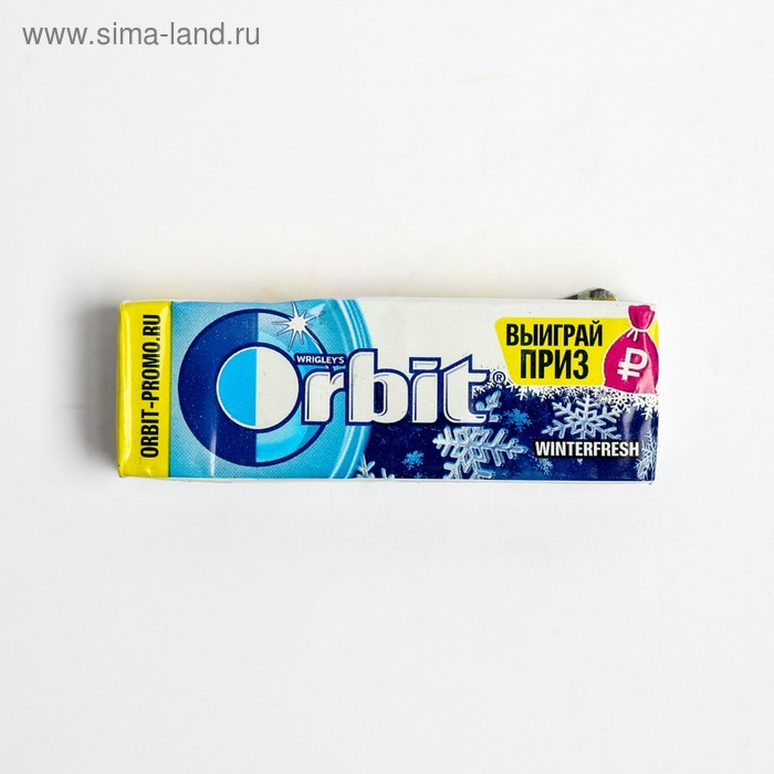 Жевательная резинка  Wrigley's Orbit Winterfresh 13.6 г