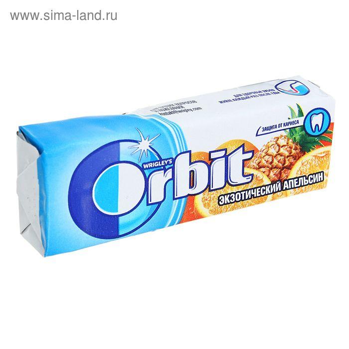 """Жевательная резинка Wrigley's Orbit """"Экзотический апельсин"""" 13.6 г"""