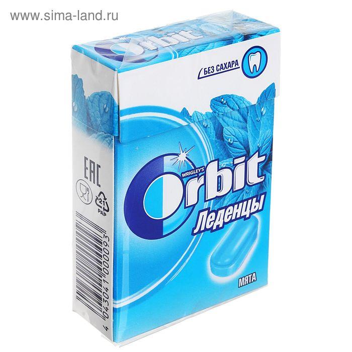 Освежающие леденцы Orbit, натуральная мята, 35 г