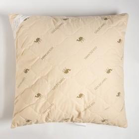 """Подушка """"Этель"""", подстёжка — верблюжья шерсть, 70х70 см, тик"""