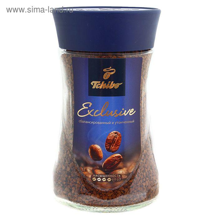 Кофе Tchibo Exclusive, натуральный, сублимированный, 190 г