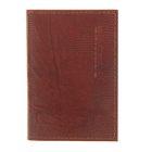 Визитница V-02-84, 1 ряд, 18 листов, цвет коричневый