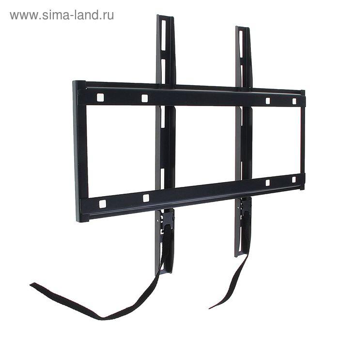 """Кронштейн HOLDER LCD-F4610-B, для ТВ, фиксированный, 32-65"""", чёрный"""