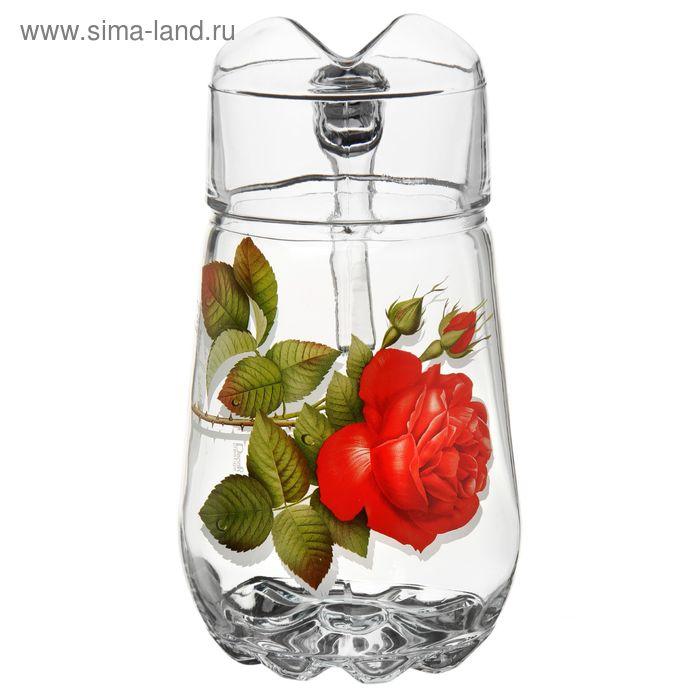 "Кувшин 1,35 л ""Алая роза"""