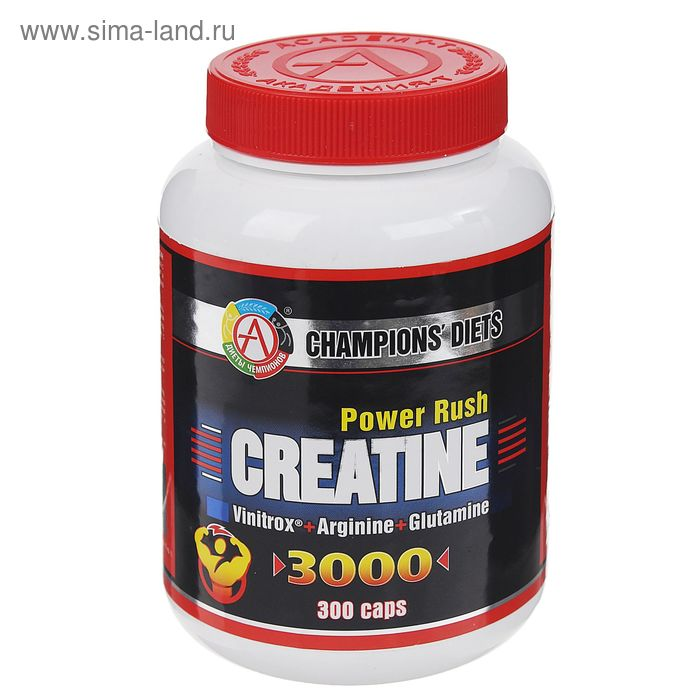 Креатин CREATINE Power Rush 3000 300 капсул