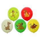 """Шар латексный 14"""" Disney """"Король Лев"""", пастель, 2-сторонний рисунок, набор 25 шт., цвета МИКС"""