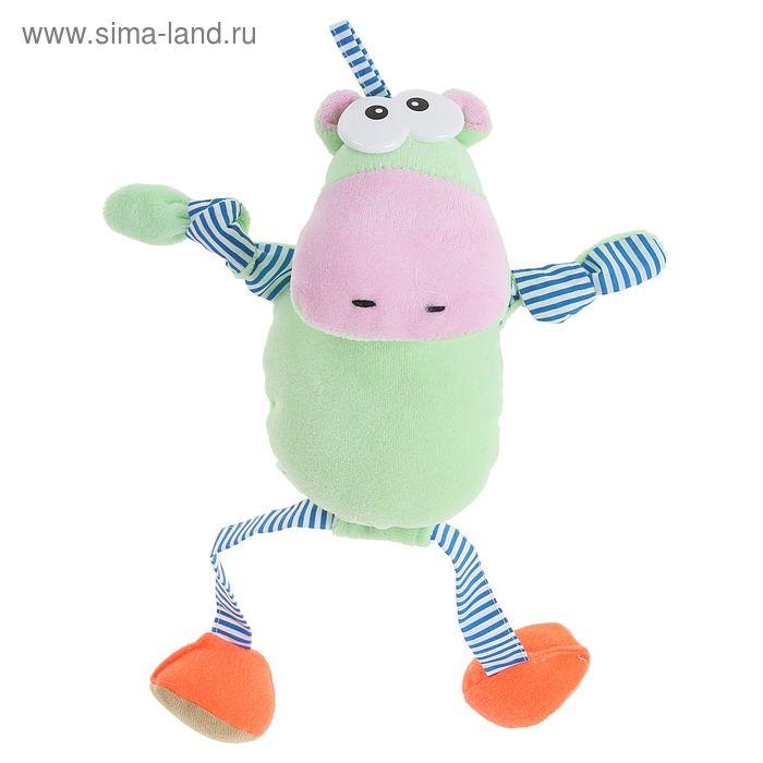 """Развивающая игрушка-подвеска """"Весёлый бегемот"""""""