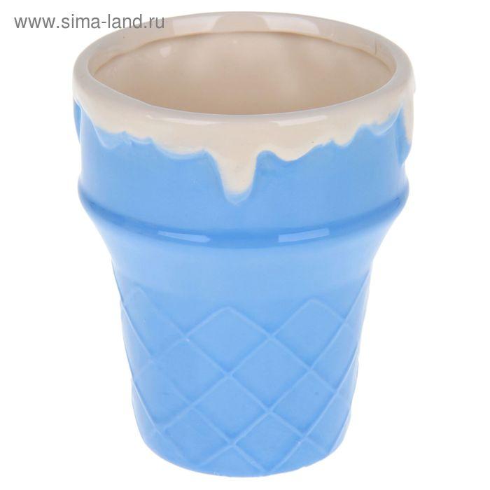 """Креманка 320 мл """"Мороженое"""", 9х11 см, цвет МИКС"""