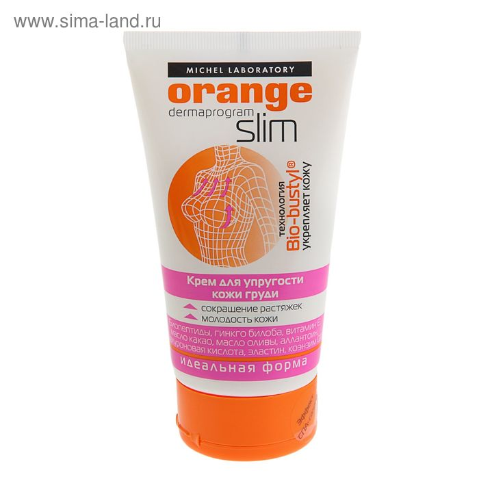 Крем для упругости кожи груди Michel Laboratory Orange Slim, туба, 150 мл
