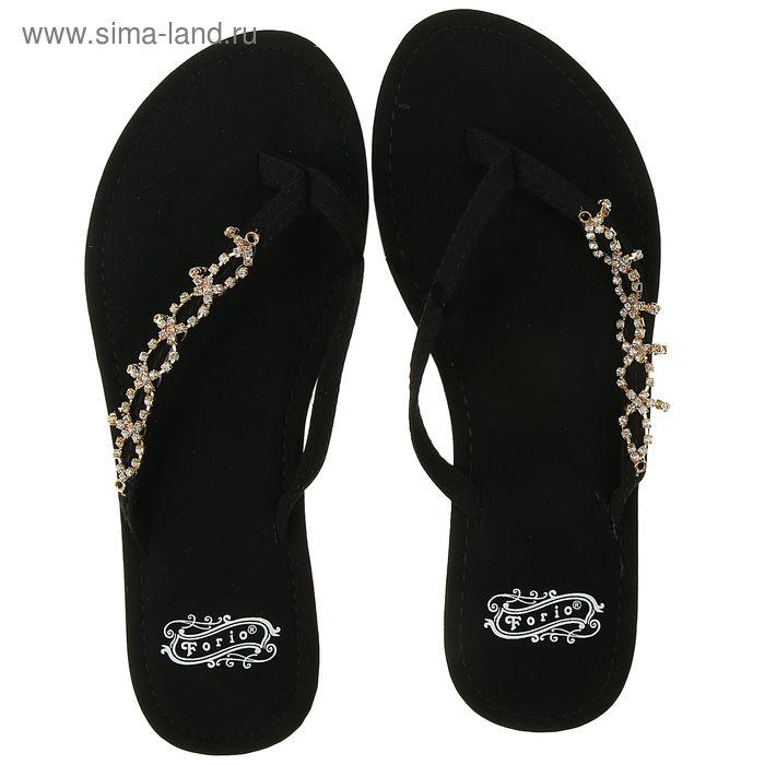 Туфли летние открытые женские. Forio арт. 325-2502 (черный) (р. 36)
