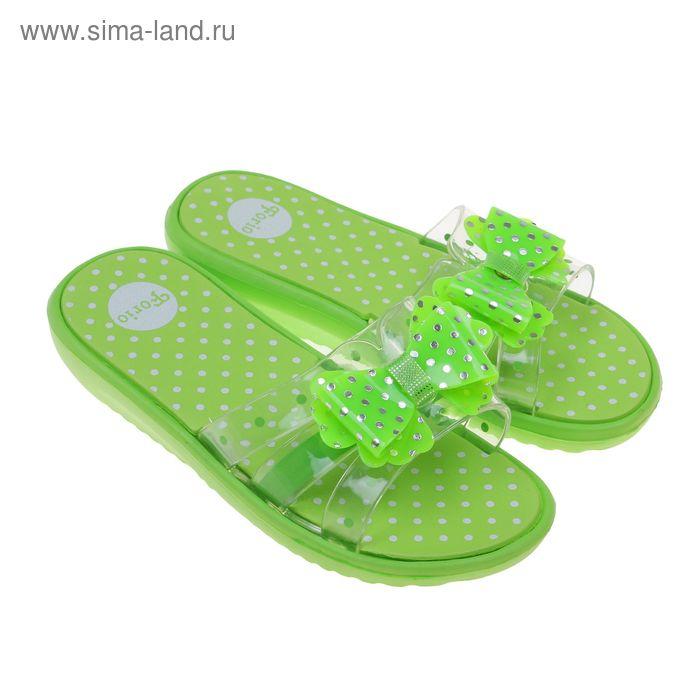 Туфли пляжные детские Forio арт. 238-5403 (зеленый) (р. 34)