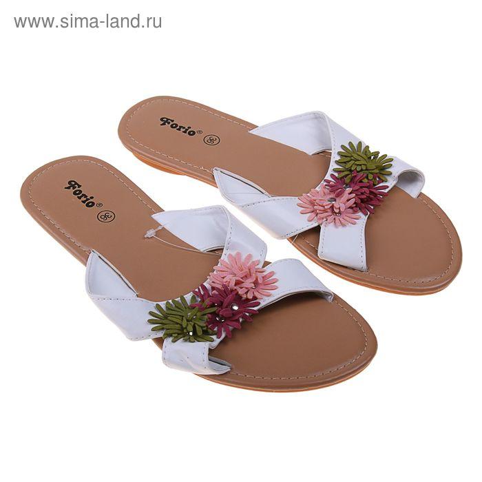 Туфли летние открытые женские Forio арт.335-3508 (бежевый) (р. 37)