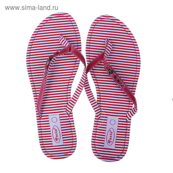 Туфли летние открытые женские Forio арт. 325-1015 (красный) (р. 38)