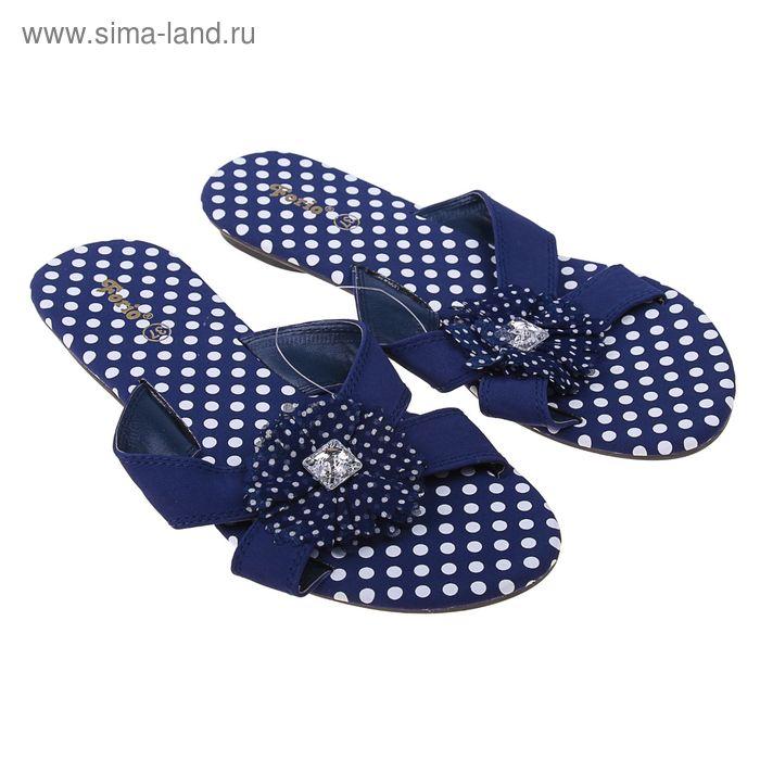 Туфли летние открытые женские Forio арт. 335-2010 (синий) (р. 37)