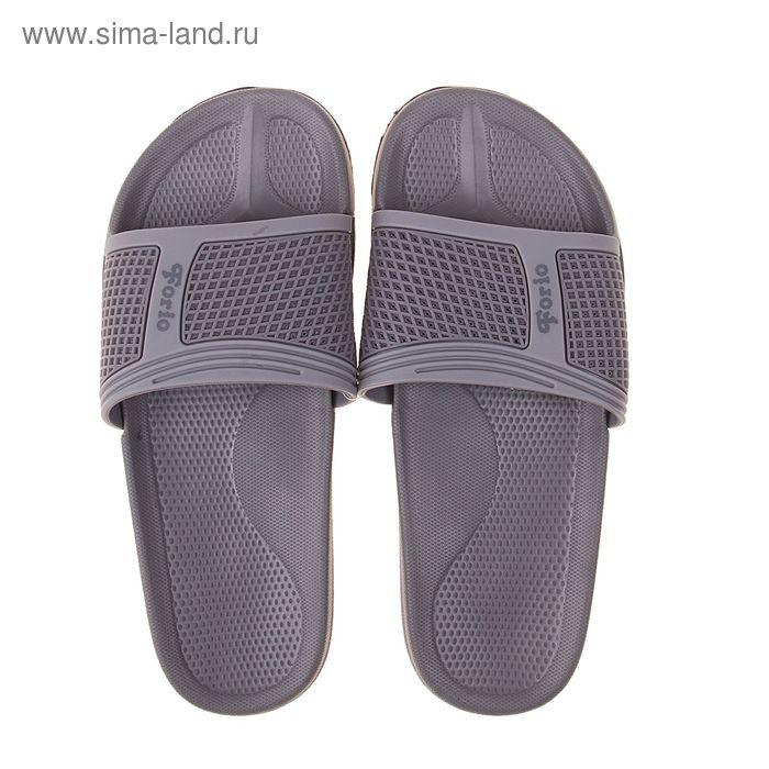 Туфли пляжные подростковые Forio арт. 239-3707 (серый) (р. 37)