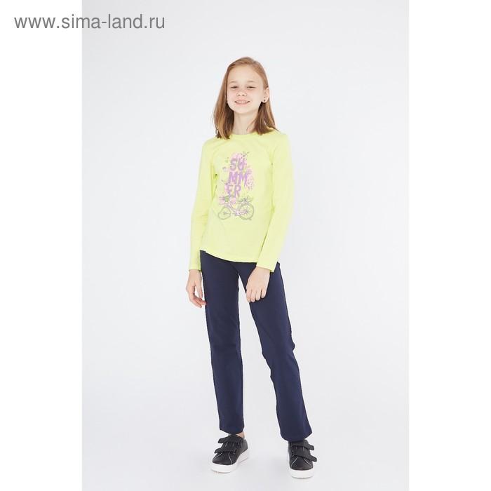 Джемпер для девочки, рост 128 см (64), цвет лайм_160089