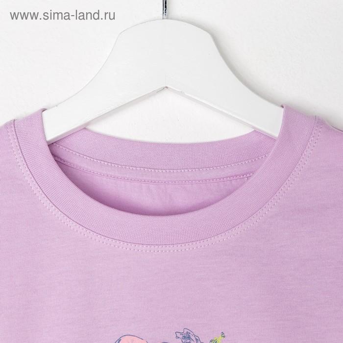 Джемпер для девочки, рост 158 см (80), цвет сирень_160089