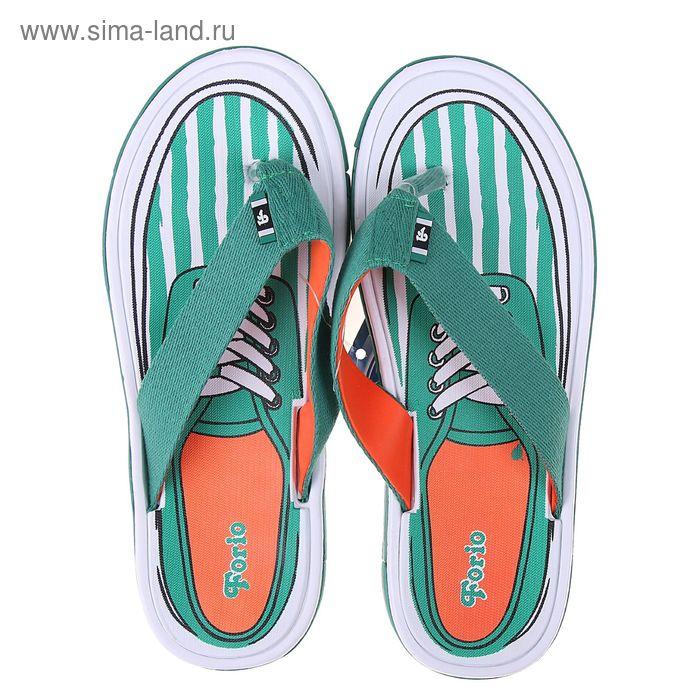 Туфли пляжные мужские Forio арт. 224-5405 (зеленый) (р. 41)