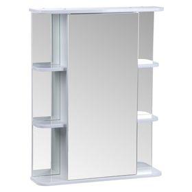 """Зеркало """"Тура"""", с двумя секциями полок, 650 х 154 х 832 мм"""