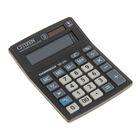 Калькулятор настольный 10-разрядный SD-210, 103*138*24мм, двойное питание, черный