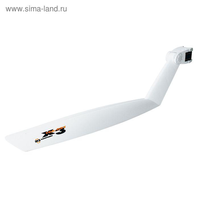 "Крыло заднее 26""-28"" SKS X-Tra-Dry, цвет белый"