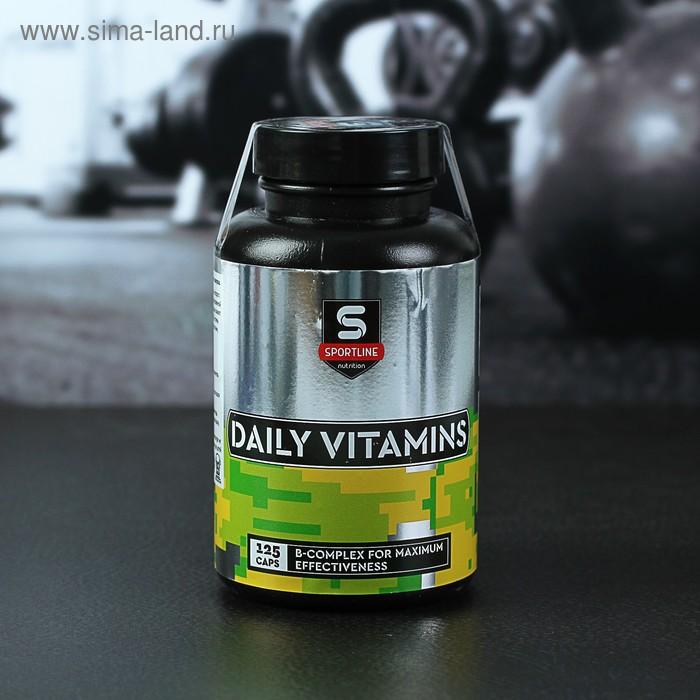 Витамины SportLine Daily Vitamins 125cap