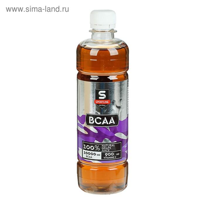 Напиток SportLine BCAA 6000mg 500ml (Виноград)