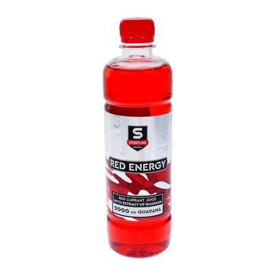 Напиток SportLine Red Energy 2000mg 500ml (Красная смородина)