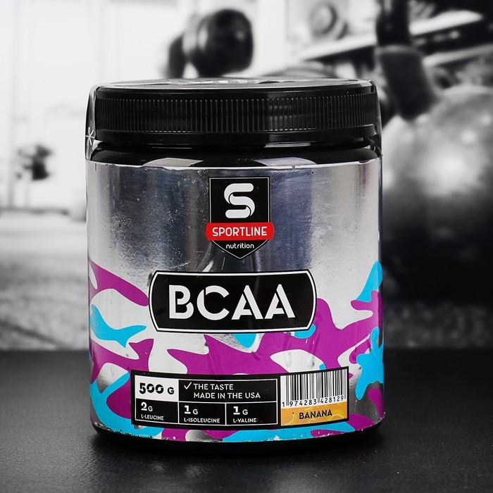 Аминокислоты SportLine BCAA 500g (Банан)
