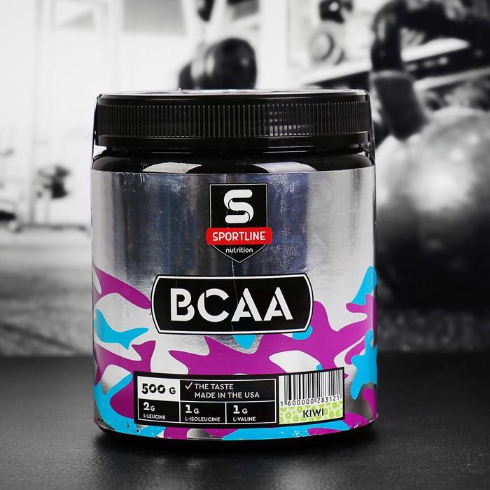 Аминокислоты SportLine BCAA 500g (Киви)