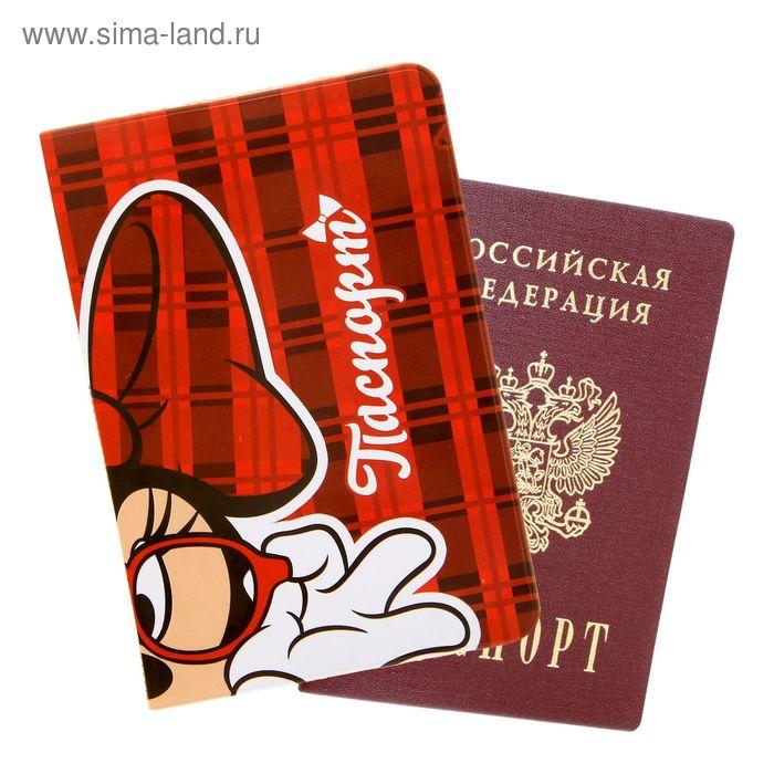 "Обложка для паспорта ""Minnie Mouse"", Минни Маус"