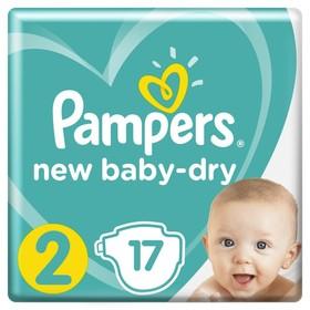 Подгузники «Pampers» New Baby-Dry, Mini, 3-6кг, 17 шт/уп