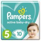 Подгузники «Pampers» Active Baby-dry, Junoir, 11-18 кг, 10 шт/уп
