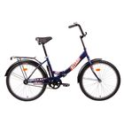 """Велосипед 24"""" Altair City 24, 2016, цвет синий, размер 16"""""""
