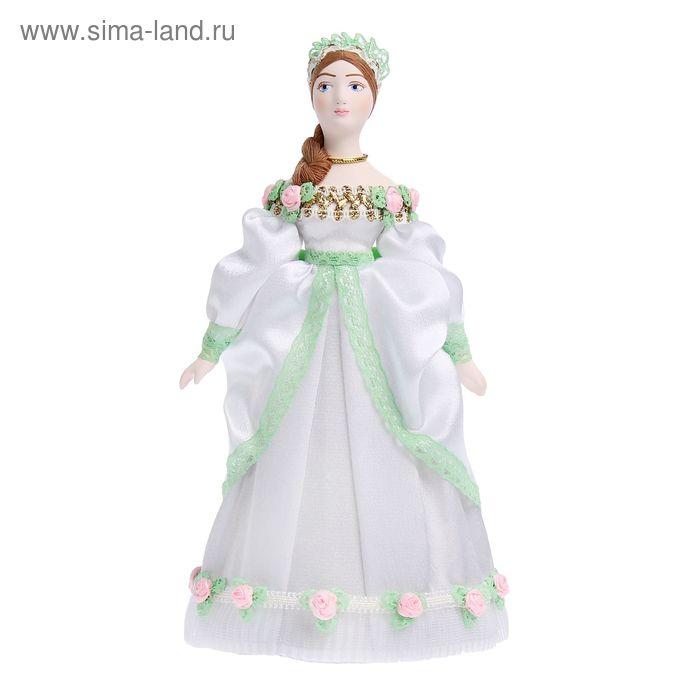 """Сувенирная кукла """"Дама в бальном платье. Петербург, конец 18 в."""""""