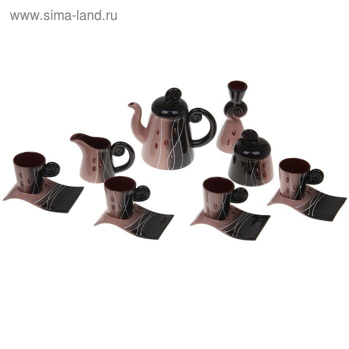 """Сервиз кофейный """"Арабика"""", 13 предметов"""