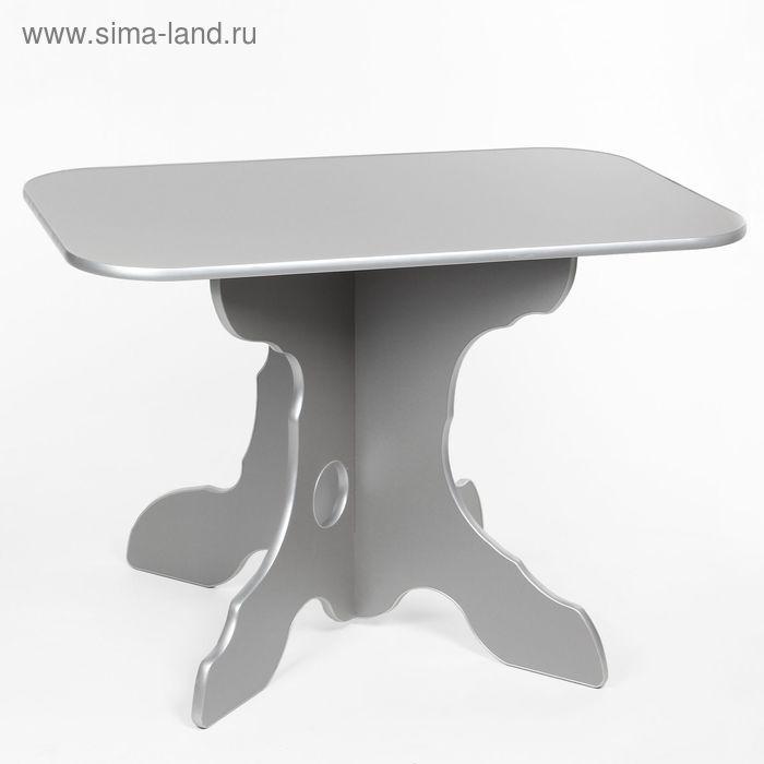 "Стол обеденный ""Ореон"", цвет титан"