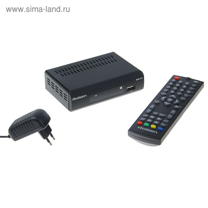 ТВ-приставка DVB-T2 ресивер Rolsen RDB-529