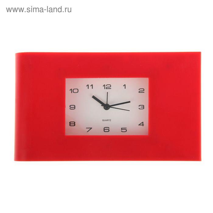 "Будильник СТАРТ ""Красная классика"" 22,3х12,8х4,4 см"