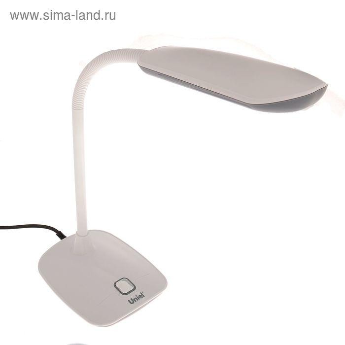 """Светильник настольный """"Люций"""", тёмно-серый, LED"""